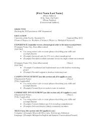 High School Student Resume First Job | Nfcnbarroom.com