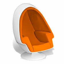 Stereo Alpha Egg Chair. >
