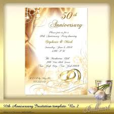 Wedding Invitation Newspaper Template Anniversary Announcement Template 50th Wedding Wording For
