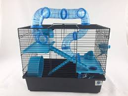 Bernie Large Hamster Cage Small Animal Cage With Fun Play Tubes 3 ...