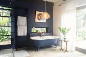 gray ceramic tile bathroom. Beautiful Ceramic Modern Bathroom With Freestanding Bathtub In Gray Ceramic Tile Bathroom M