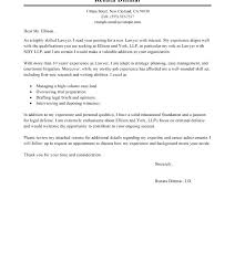 Associate Attorney Resume Associate Attorney Cover Letter Examples