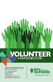 Edina Public Schools Volunteer Handbook By Edina Public