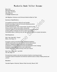 ... Job Winning Resume Samples For Bank Teller Position Vntask Com How To  Write A Pdf Best ...