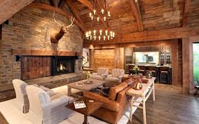 fireplace wall decor natural wood grain is featured on the walls ceiling and floor in this living brick fireplace wall decor stone wall fireplace decorating