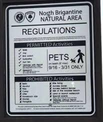 North End Of Brigantine Beaches Under Strict Control Of