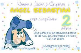 Invitaciones Fiesta Invitaciones De Mickey Mouse Baby Disney