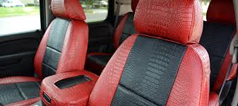 high quality exotic seat covers custom