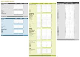 small business startup plan sample all the best business budget templates smartsheet