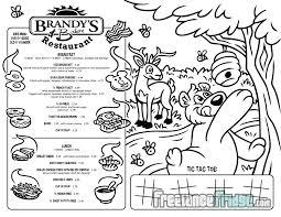 Brandys Tees Kids Menu Designs Freelance Fridge