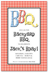 Barbeque Invitation Bbq Check Outdoor Invitations Barbeque Invitations 17431