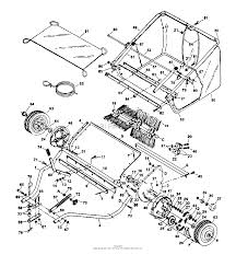 Husqvarna hs 420 lawn sweeper 1996 12 parts diagram for general lawn sweeper diagram 43 at hand truck diagram