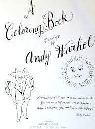 a coloring book drawings by andy warhol kinder books showy