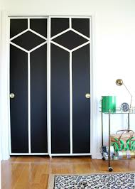 Painted closet doors Gold Sliding Closet Doors Makeover Painted Closet Door Ideas Painted Doors Ideas Interior Door Rain On Tin Roof Diy Painted And Patterned Doors