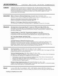 Sample Resume Format For Engineering Students Sample Resume Format For Engineers Fresh Sample Resume Format For 16