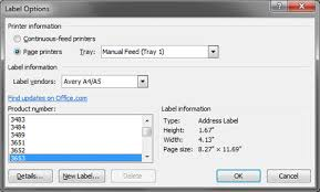 How To Print Avery 5160 Labels In Word How To Mail Merge And Print Labels In Microsoft Word