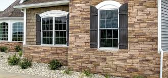 Outside Window Decorations Home Outdoor Decor Stone Wall Colors
