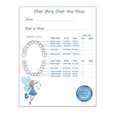Chart Track Tooth Lost Chart The Perfect Chart To Keep Track Of Your Tooth Fairy Visits