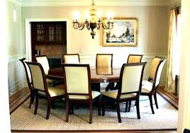 extra long dining table seats 10 large round room square size and seating guide choosing your