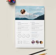 Resume Template With Picture Free Download Resume Template Free