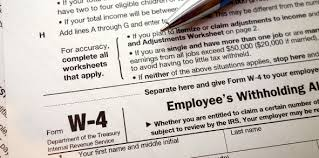 Irs Releases Second Draft Of 2020 Form W 4 Tax Withholding