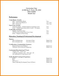 7 Curriculum Vitae Examples Pdf Job Apply Letter