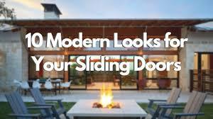 10 modern looks for your sliding doors