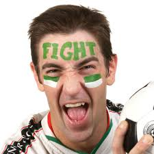 sports fan face paint. ultimate sports fan face paint p