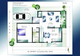 40 x 40 duplex house plans inspirational 30 x 40 house plans west facing ground floor