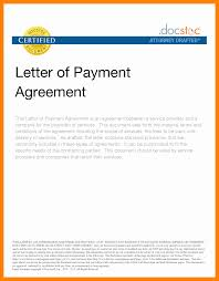 8 Agreement Letter For Payment Format Data Analyst Resumes