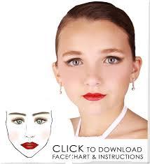 recital make up tutorials