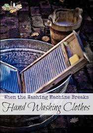 hand washing laundry l if your washing machine breaks or the power goes out here s