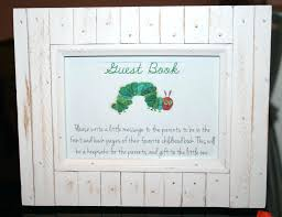 Guest Sign Book Baby Shower Sign In Book Mini Box Guest Book Baby Shower Guest Book