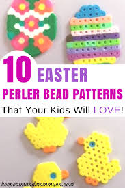 Perler Bead Patterns Impressive 48 Easter Perler Bead Patterns And Ideas Keep Calm And Mommy On