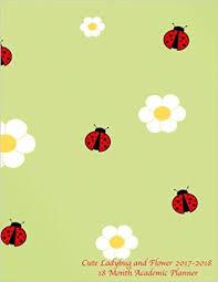 Ladybug Quotes Interesting Amazon Cute Ladybug And Flower 4848 48 Month Academic