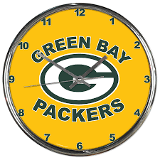 office wall clocks large. Green Bay Packers Wall Clock Office Clocks Large