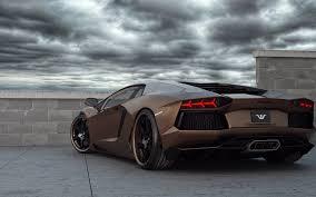 Black And Gold Lamborghini Background