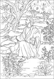 Small Picture Angels and Jesus Resurrection coloring pages Advent Coloring