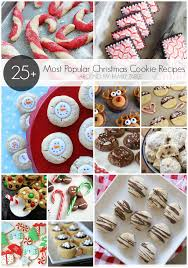 christmas cookies recipes with pictures. Wonderful Recipes 25 Of The Most Popular Christmas Cookie Recipes On Cookies With Pictures