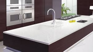 white quartz countertops. It Is An Ideal And Most Practical Choice For Residential Commercial Interior Countertop. Being Cut Into Countertop, Pearl White Quartz Plays A Role With Countertops N