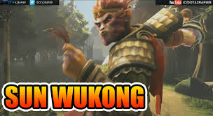 dota 2 sun wukong the monkey king new hero reveal youtube