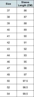 Collar Size Chart Mens Shirt Size Guide Gloweave Mens Shirts Size Chart