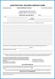 Permalink to General Contractor Proposal Template – 11 Construction Bid Form Examples Pdf Examples / Close more deals faster by leveraging this use qwilr's construction proposal template to create a beautiful proposal that wins jobs.