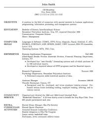Gallery Of Cv Psychology Graduate School Sample Http Www