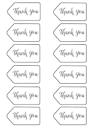 Printable Tag Templates Images Of Thank You Tag Template Word Free Printable Tags Round