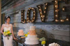 the latest wedding trend vintage marquee letters 13