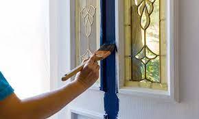 8 steps to paint a fiberglass door