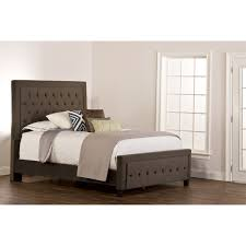 Pewter Bedroom Furniture Hillsdale Furniture 1638bqrk Kaylie Queen Bed Set With Rails In Pewter