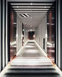 Striped Hallway Photos (1 of 1)
