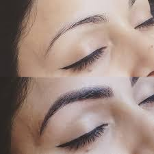semi permanent eyebrow make up